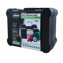 Compresor Inflador Slime Doble Piston 2 Min X Rueda 4x4 Atv