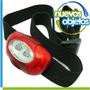 Linterna De Cabeza Mini Led Rojo Y Blanco Superluminicos
