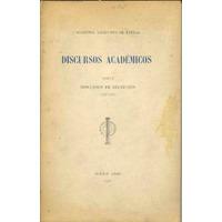 Academia Argentina De Letras Discursos Académicos 4 Tomos A6