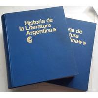Historia De La Literatura Argentina Ctro Ed América Latina
