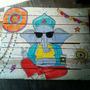 Mesas Ratonas Pallet Indie / Buda / Rock ! Super Coloridas
