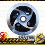 Llanta Aleación Rodado 4pulg. Para Mini Cuatriciclo 49 Cc2t