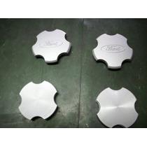 Tapa De Llanta Ford Taunus Plastico Color Aluminio