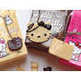 Llavero Hello Kitty Imitación Chocolate