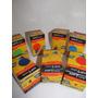 Lampara Gota Color 15w Incandescente - Promo Por 4 Unidades