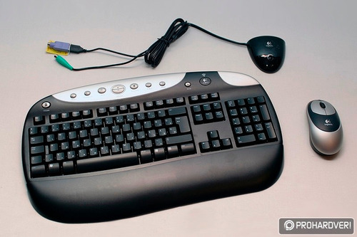 logitech cordless desktop optical: