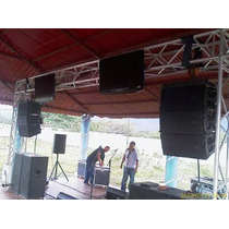 Truss,dj,estructuras,elevacion Linea Array,tripode Moviles,