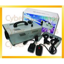 Maquina De Humo 1200w Control Remoto Inalambrico Profesional