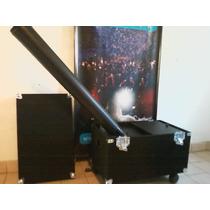 Maquina Lanza Papeles De 2000w Maxi Blower Light System