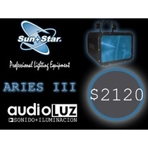 Luz Efecto De Led Aries Iii Sunstar Dmx Audioritmico