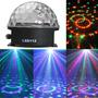Bola Esfera Magica Led Rgb Crystal Audioritmica Magic Ball