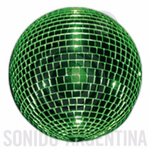 Esfera Espejada De Color N°70 Bola De Espejos Extrareforzada