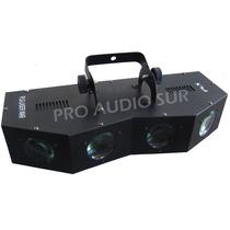 Efecto De Led Pls Laser War 4 Lentes Sound Rgb Dmx Ver Video