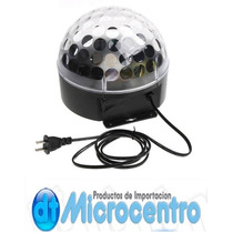 Esfera Luz Disco 3 Led ( Crystal Ball ) Audio-rítmica