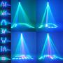 Proyector Luz Cañon Leds Audioritmico Dj Boliche 1 Año Gtia