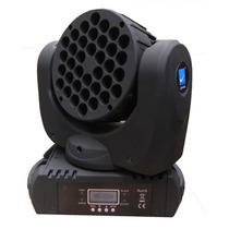 Cabezal Movil Beam Big Dipper Lm108 36 Led 3w Rgbw Dmx