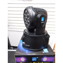 Cabezal Movil Big Dipper Lm70 7 Led 8w Rgbw Dmx