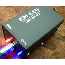Interface Usb Dmx 512 Canales ( Open Dmx) By Km-led Nueva!!