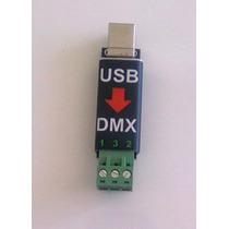 Interface Controlador Usb A Dmx 512 - Enttec Open Dmx
