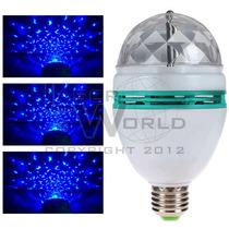 Lámpara Led Azul Giratoria, Bola De Leds, Luces, Fiestas, Dj