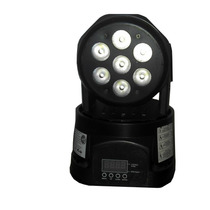 Iluminacion Cabezal Gbr Moving Power 7 Led