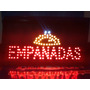 Cartele Led Empanadas -abierto -oferta-bienvenido Y 40 Más -