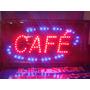 Carteles Led Cafe