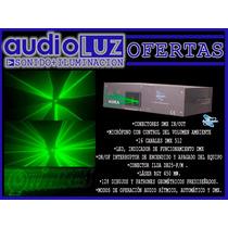 Laser Luces Efectos Aura Sunstar Rgy Potencia 450mw Ilda Dmx