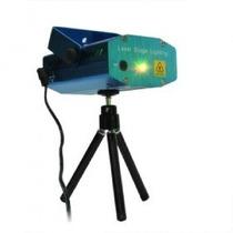 Mini Laser Audioritmico Efecto Lluvia Estrellas Verde Y Rojo