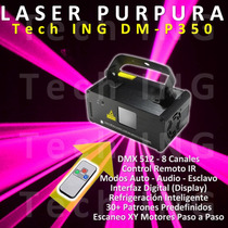 Novedad: Laser Purpura Profesional + Dmx + C Remoto + Video!