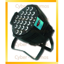 Par Led Negro Proton Profesional 24x10 Watts Tacho Rgbw Dmx
