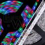 Tira Led Rgb 3528 5m Int/ Exterior Luz Fija + Transformador