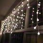 Luz Led Lluvia Canicas 200x50cm Deco Navideña Bodas Eventos