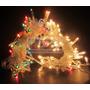 Luz Navidad Arroz X50 Luces 3m Cable Cristal 8 Efectos Local