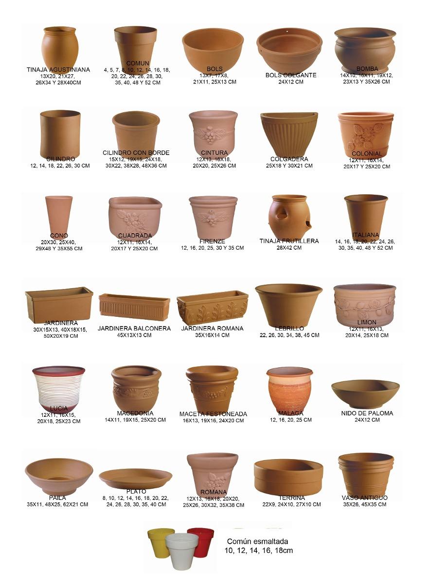 Maceta paila de barro 35cm hay 3 medidas 17027 - Macetones de barro ...