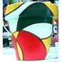 Macetas Pintadas Circulo De Diseño N° 35