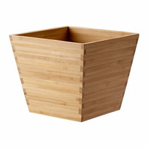 Ikea - Porta Macetas Vildapel De Madera De Bambú