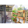 Huerta Urbana Vertical En Madera Reutilizada Mundo Garden