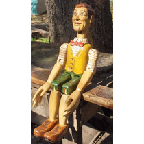 Muñeco Articulado En Madera