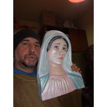 Escultura De La Virgen Tallada A Mano Leonel Tucididi Artist