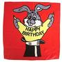 Pañuelo Feliz Cumpleaños ( 45 Cm.) Infantil- Accesorio