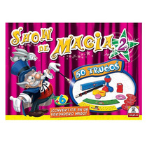 Juego De Mesa Show De Magia 50 Trucos Original Implas