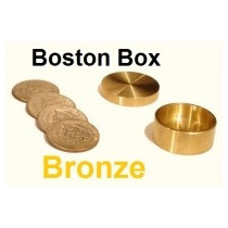 Boston Box, 25/50 Centavos Nacional, Fabricada En Bronce