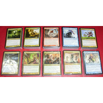 600 Cartas: 10 Mazos Magic Bloque Theros/bog/jou En Español!