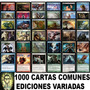 Magic: 1000 Cartas Comunes De Ediciones Variadas En Ingles!!