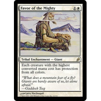 Cartas Magic: Favor Of The Mighty Nmint Lorwyn!!!
