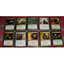600 Cartas: 10 Mazos De Magic Ravnica/gatecrash Esp/ingles!!