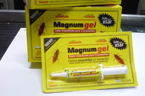 Magnum Gel Insecticida Para Cucarachas X 12grs