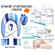 Avent Set Recien Nacido+set Mama Bebe Lactancia11 Productos!