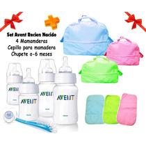 Avent Set Recien Nacido+bolso Maternal+cambiador